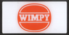 wimpy badge