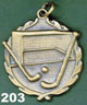 203 hockey medal