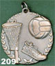 209 basketball medal