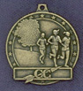 222 cross country female medal
