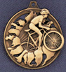 225 cycling blaster medal