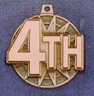 519 4th place medal