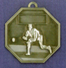 901 baseball back medal