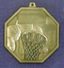 902 basketball back medal