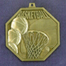902 basketball front medal