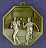 906 softball back medal
