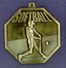 906 softball front medal