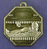 907 swimming back medal
